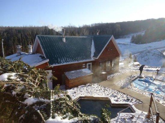 Appalaches Lodge-Spa-Villegiature :                   le Lodge et son Spa
