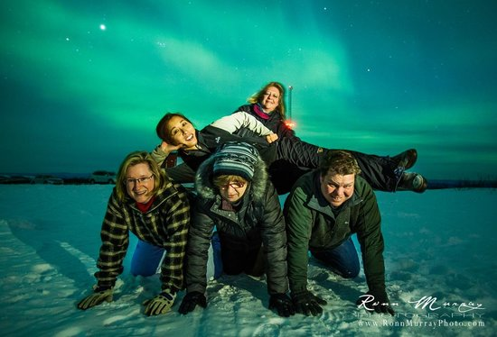 1st Alaska Tours:                                     Aurora Viewing at Murphy Dome