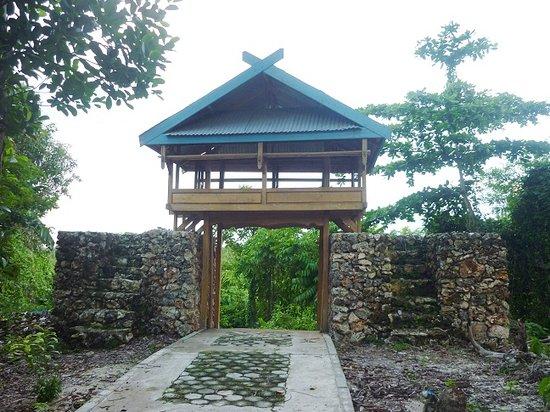 Wangi Wangi Island, Indonesia:                   Lawa, Pos Jaga sekaligus Pintu erbang Masuk Benteng