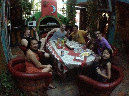 Cabo Inn Hotel:                   fun in the courtyard