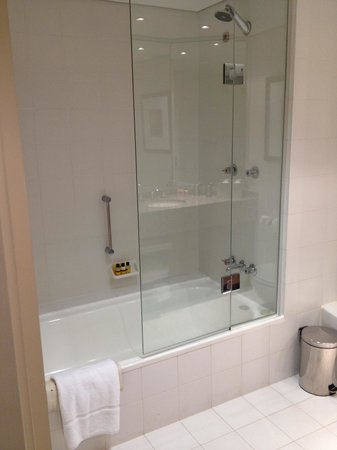Hyatt Regency Perth:                   Small bathroom - not 5 stars.