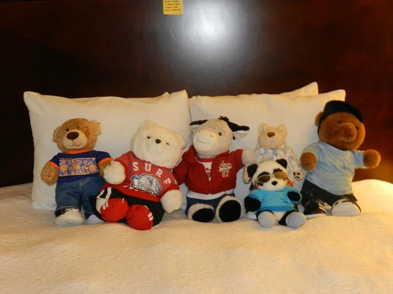 Hampton Inn Carlsbad-North San Diego County:                   The bed with my fluffies