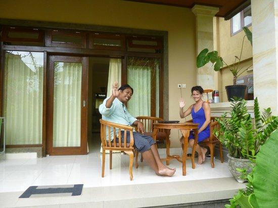 Frangipani Bungalows:                   le proprio et une touriste heureuse
