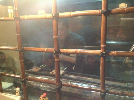 Kushiyoshi:                   焼き場の様子