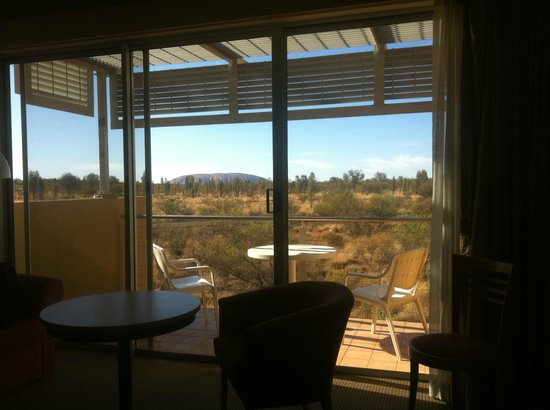 Desert Gardens Hotel, Ayers Rock Resort :                   Room with a view.....
