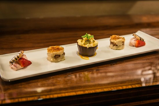 Garden Room Cafe Restaurant : Sharing Pudding Platter (Taster Menu)