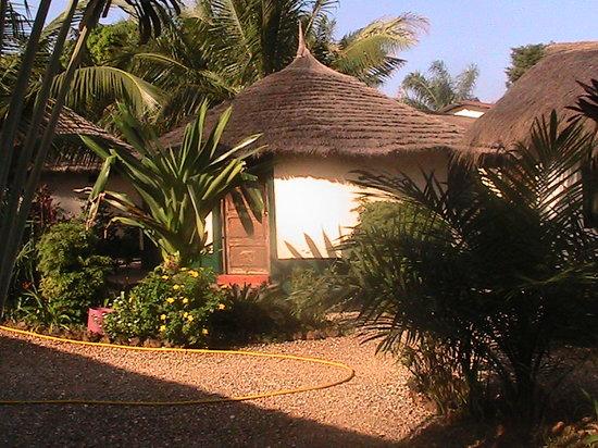 Bubaque, Guinea-Bissau: um bengalow do hotel casa dora