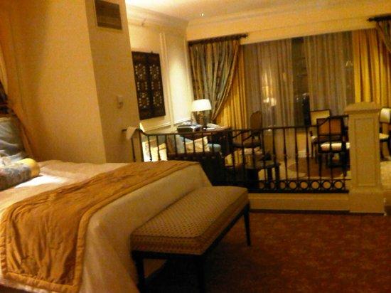 The Venetian Macao Resort Hotel:                                     The Living Room