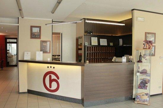 Hotel Griselda : Reception