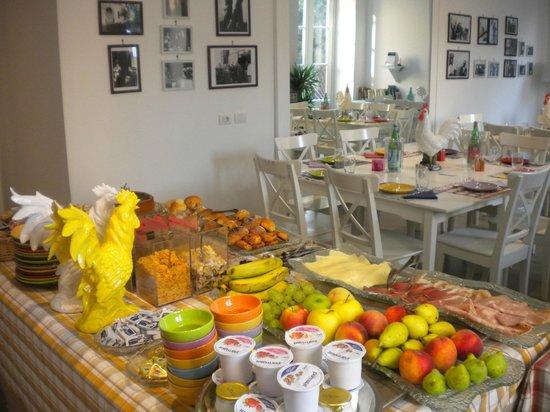 Palazzo Jannuzzi Relais: sala colazione