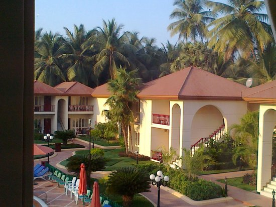 Radhika Beach Resort:                                     SERIES OF COTTAGES