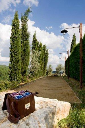Agriturismo Poggetto: Bocce playground