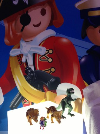 Ibi, Spanyol:                   Habitación de Playmobil