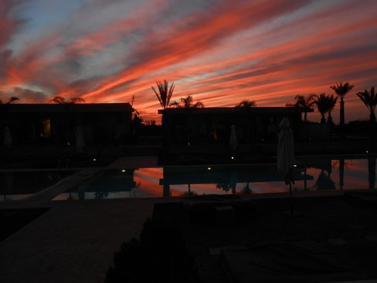 Sirayane Boutique Hotel & Spa:                                     Spectacular sunset