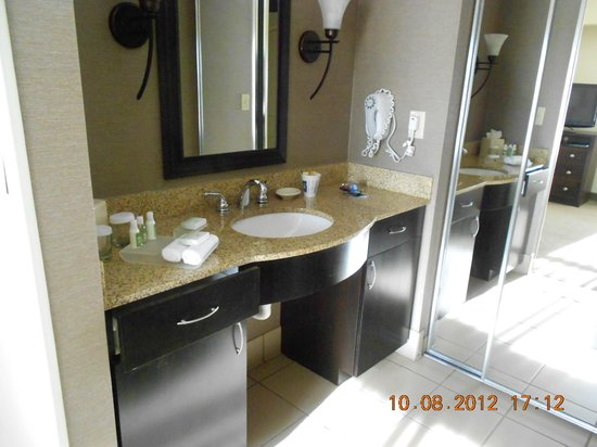 Homewood Suites Louisville East : Vanity