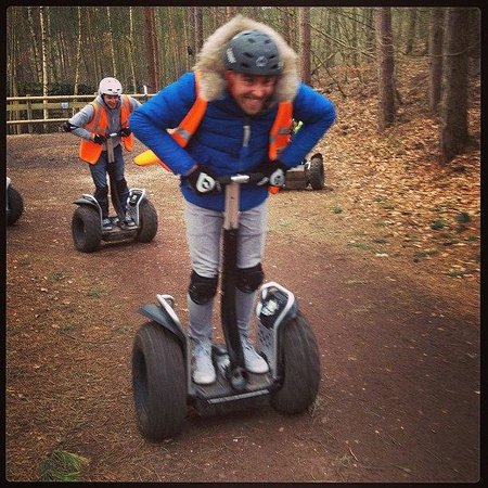 Center Parcs Sherwood Forest:                                     Segway Rally!