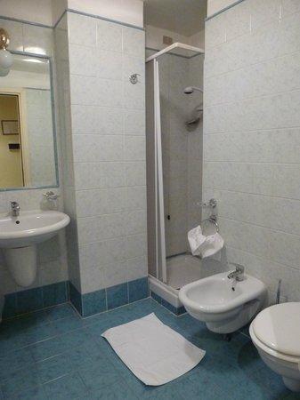 Hotel Laura: bathroom