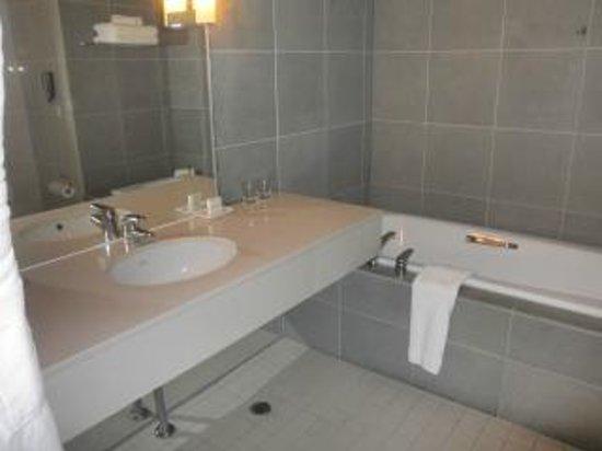 Hilton Auckland:                                     bathroom