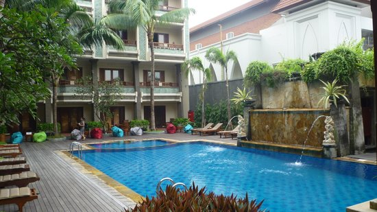 The Vira Bali Hotel:                                     Very nice pool