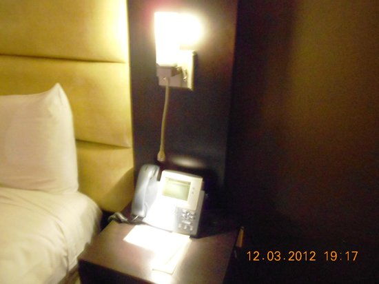 Wind Creek Casino & Hotel, Atmore: Bedside light