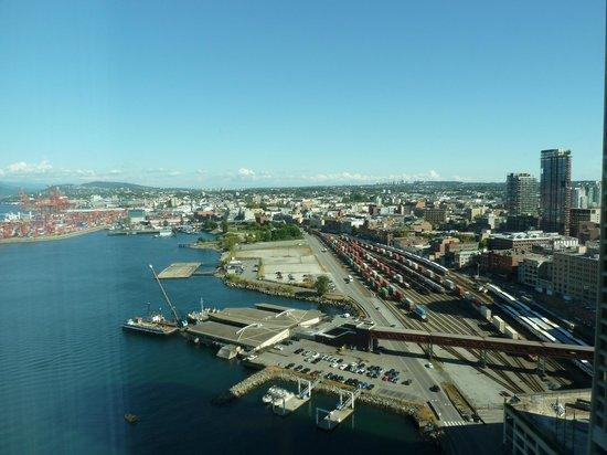 Pan Pacific Vancouver: Ausblick aus dem 21. Stock, Rückseite