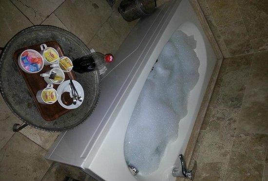 Dervish Cave House:                                     Nice Soap Bath...!! lol                                  