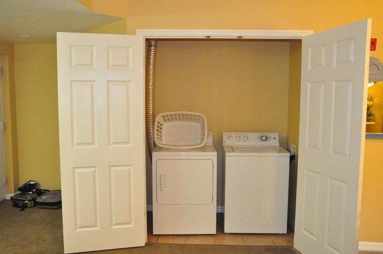 Liki Tiki Village:                   washer and dryer                 
