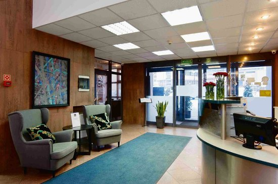 Best Western Hotel Galicya: reception area