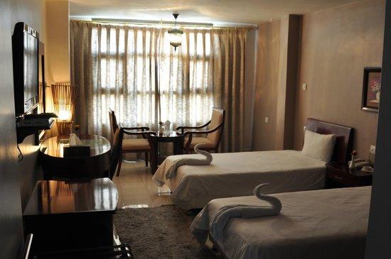 Al Zaitouna : hotel room