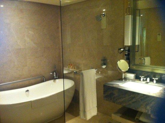 Marina Bay Sands: bathroom