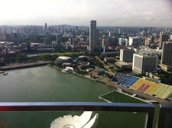 Marina Bay Sands: sky park view