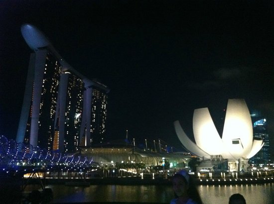 Marina Bay Sands: night view