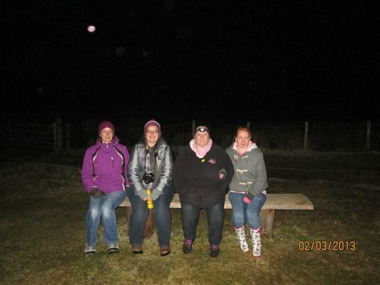 Auchindrain Highland Farm Township:                                     some of the ghost hunters