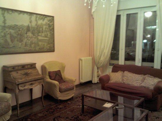 Hotel Marchionni :                   la hall