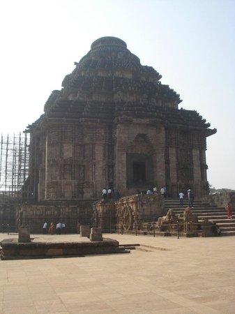 Конарак, Индия:                   the dome