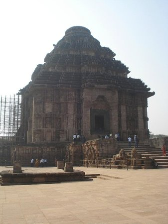 Konark, الهند:                   the dome                 