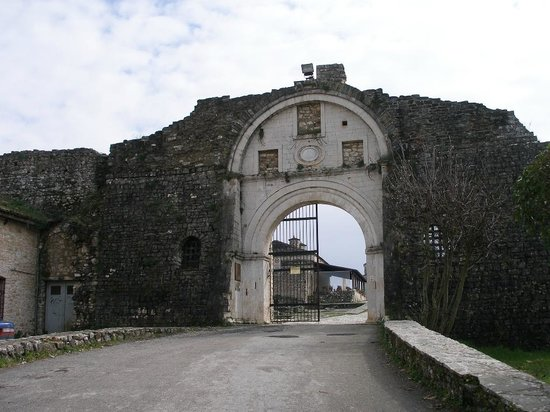 Ioannina, Greece:                   castle Gate
