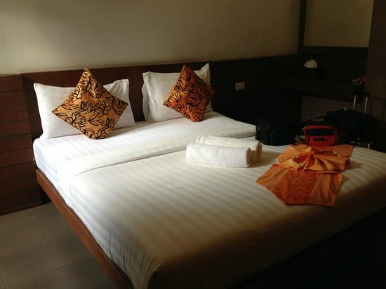 Samui Heritage Resort: Bedroom of room 103