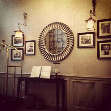 Carlton George Hotel:                   reception