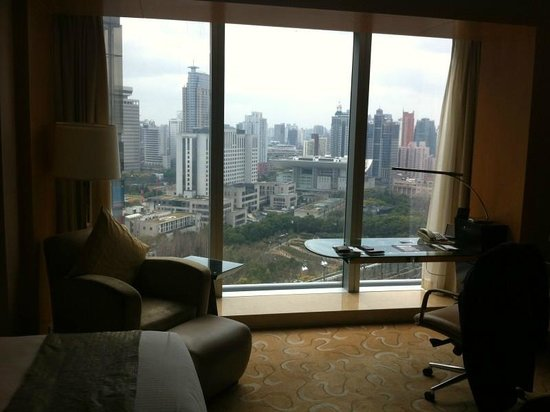 Le Royal Meridien Shanghai:                   View from my hotel room in 23rd floor