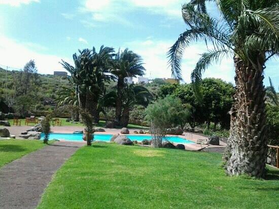 Hacienda de Anzo:                   la piscina