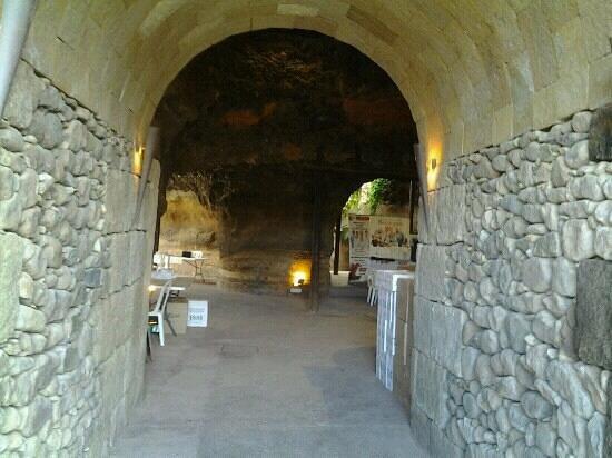 Hacienda de Anzo :                   la cueva