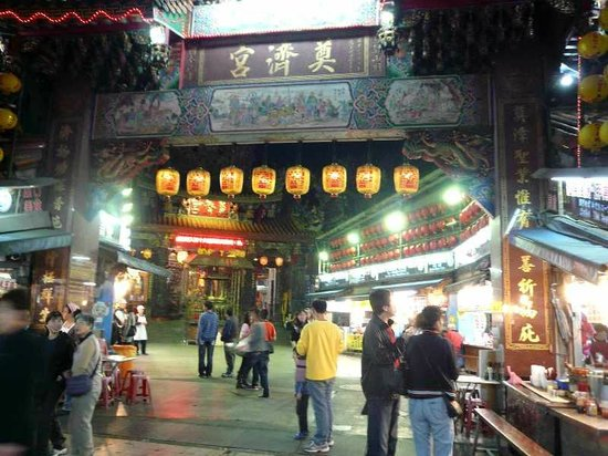Tianjigong:                   夜の正門