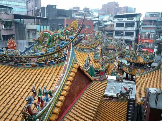 Tianjigong:                   最後尾の建物から見る正門方向