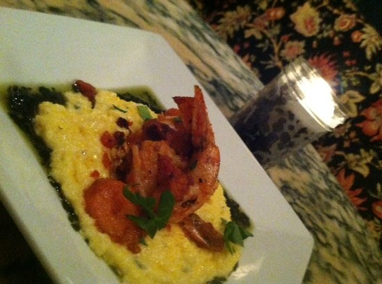 Parker House Inn and Restaurant : Cognac Shrimp and Polenta