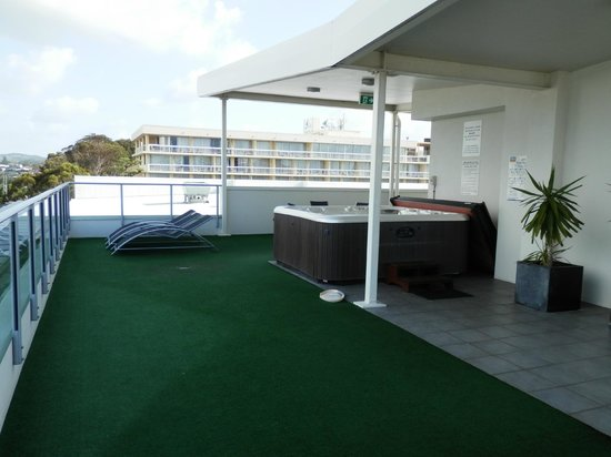 Rooftop Terrace Picture Of Macquarie Waters Hotel Apartments