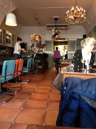 Brasserie L'Anders:                   nett und gemütlich