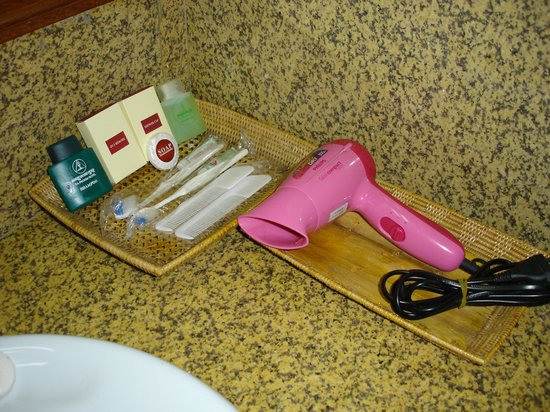 Ta Prohm Hotel:                   bathroom