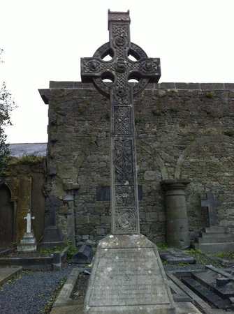 St. Mary's Cathedral:                   Celtic cross