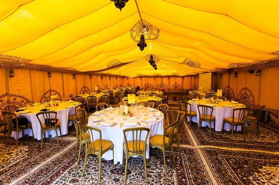 Fat Fowl: Inside the marquee